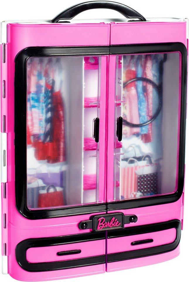 Mattel, Modekoffer, »Barbie Kleiderschrank« in rosa