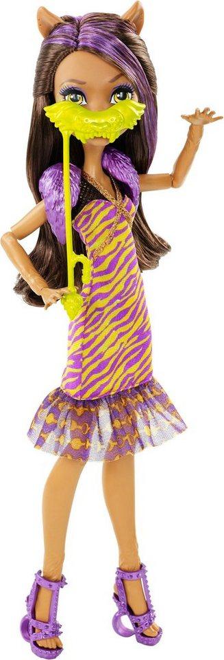 Mattel Puppe, »Monster High, Willkommen an der Monster High, Clawdeen Wolf«