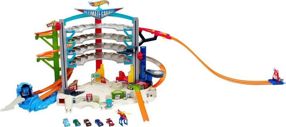 Mattel, Spielparkhaus mit 3 Actionfunktionen, »Hot Wheels® Megacity Parkgarage«