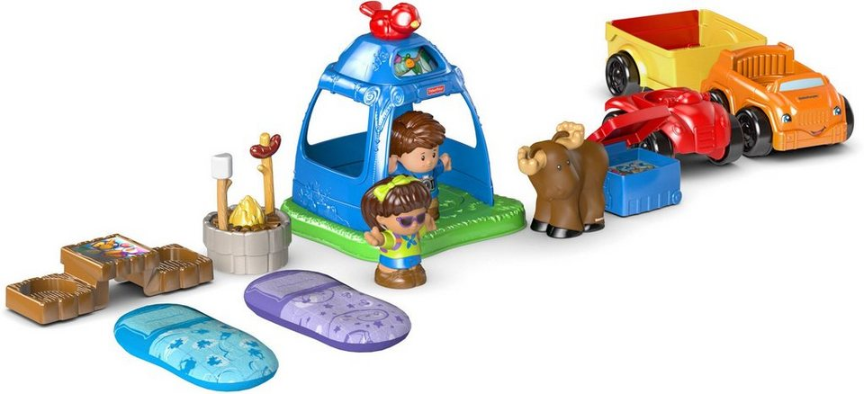 Fisher Price Spielset, »Little People, Camping Set«