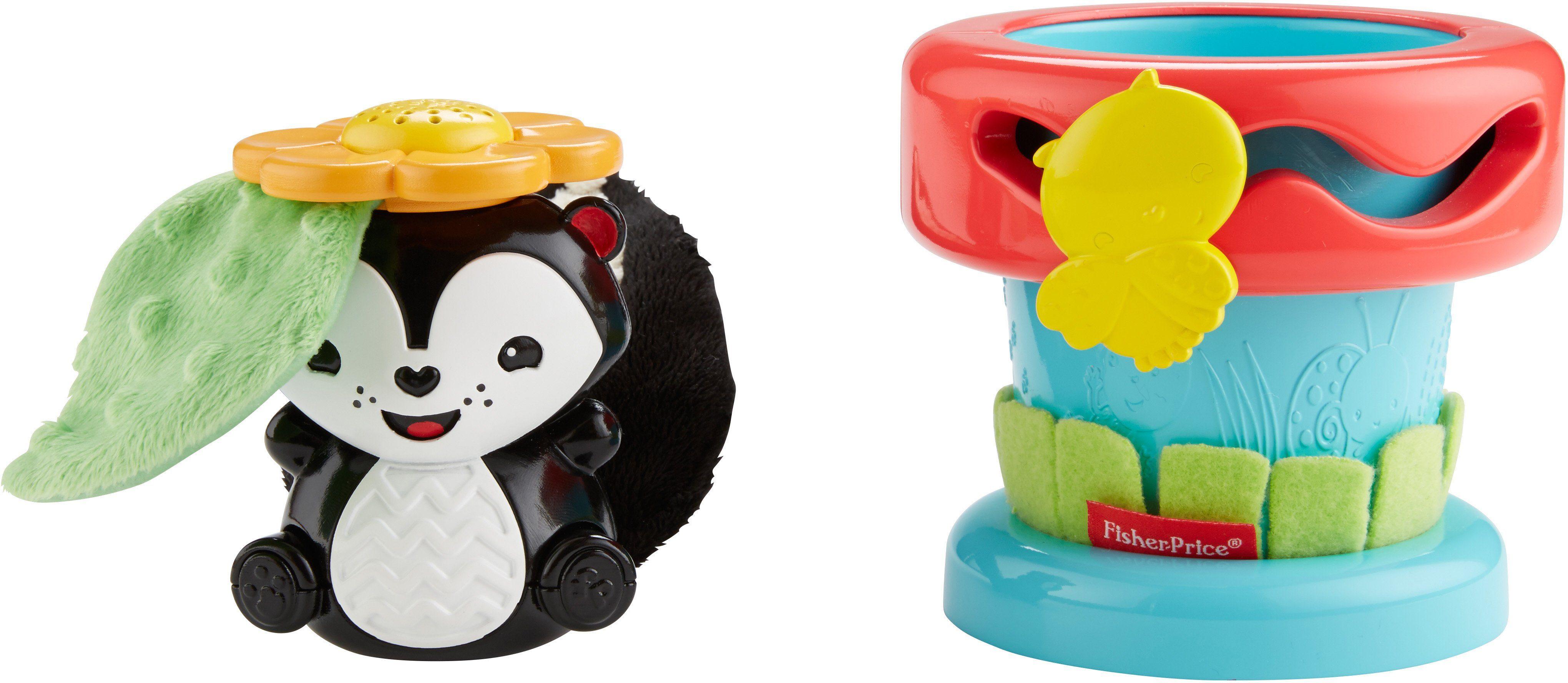 Fisher Price Lern und Tastspielzeug, »Spielspaß Blumentopf«