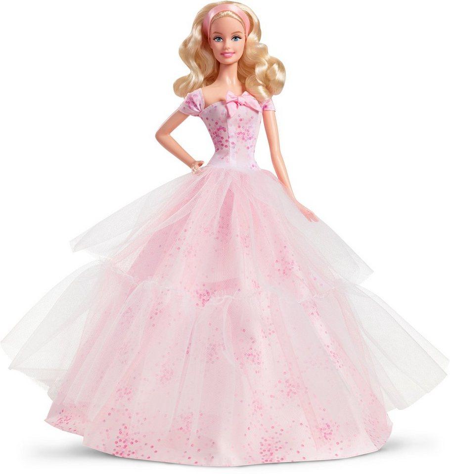 Mattel Geburtstagspuppe, »Birthday Wishes 2016 Barbie Puppe« in rosa