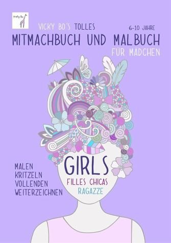 Broschiertes Buch »Vicky Bo's tolles Mitmachbuch und Malbuch für...«