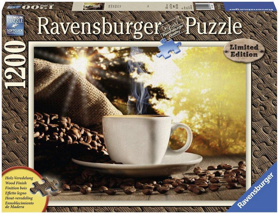 Ravensburger Puzzle, 1200 Teile, »Zeit für Kaffee«