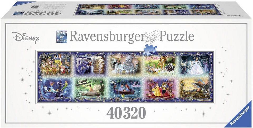 Ravensburger Puzzle, 40320 Teile, »Unvergessliche Disney Momente«