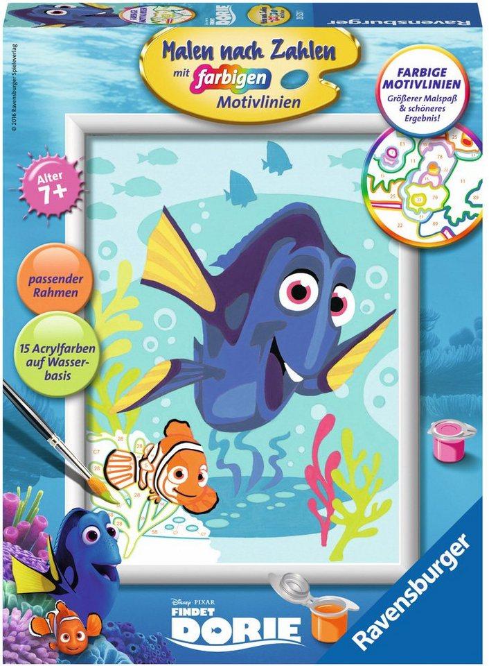 Ravensburger Malen nach Zahlen, »Disney Pixar, Finding Dory, Dory und Nemo«