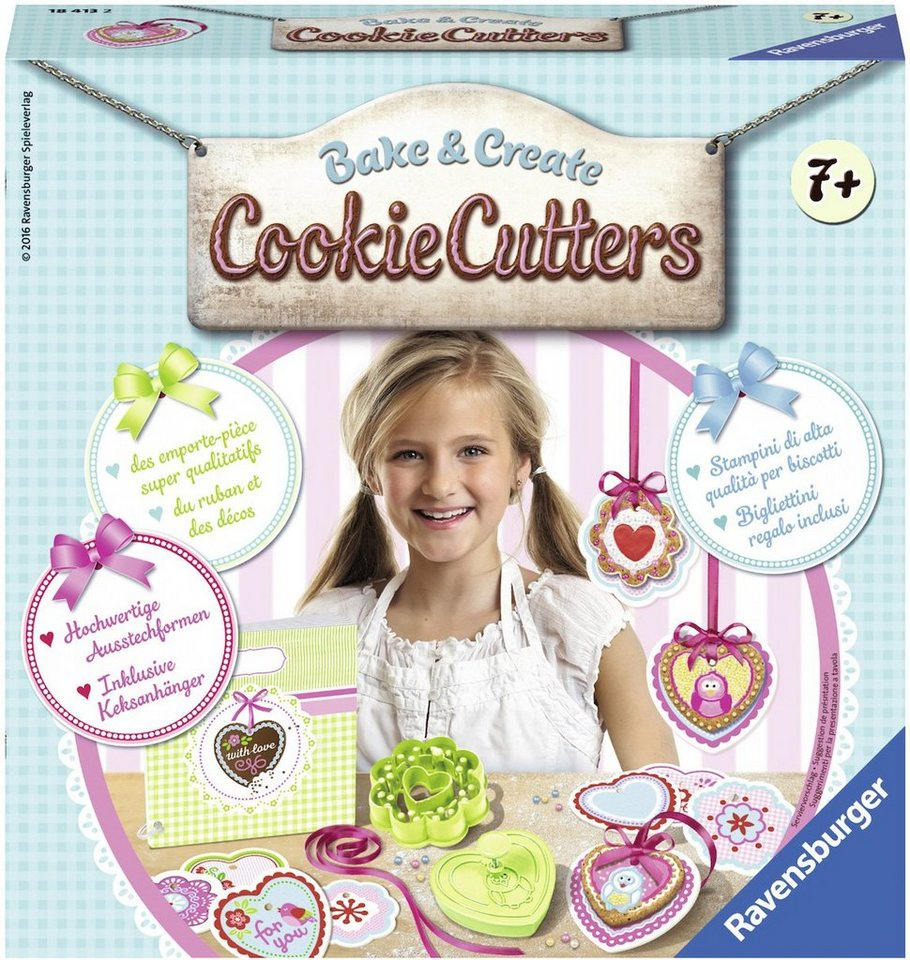 Ravensburger Back-Set , »Bake & Create Cookie Cutters«