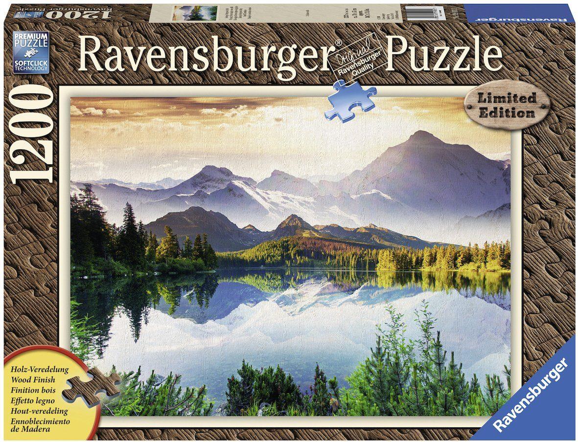 Ravensburger Puzzle, 1200 Teile, »Sonnige Berglandschaft«