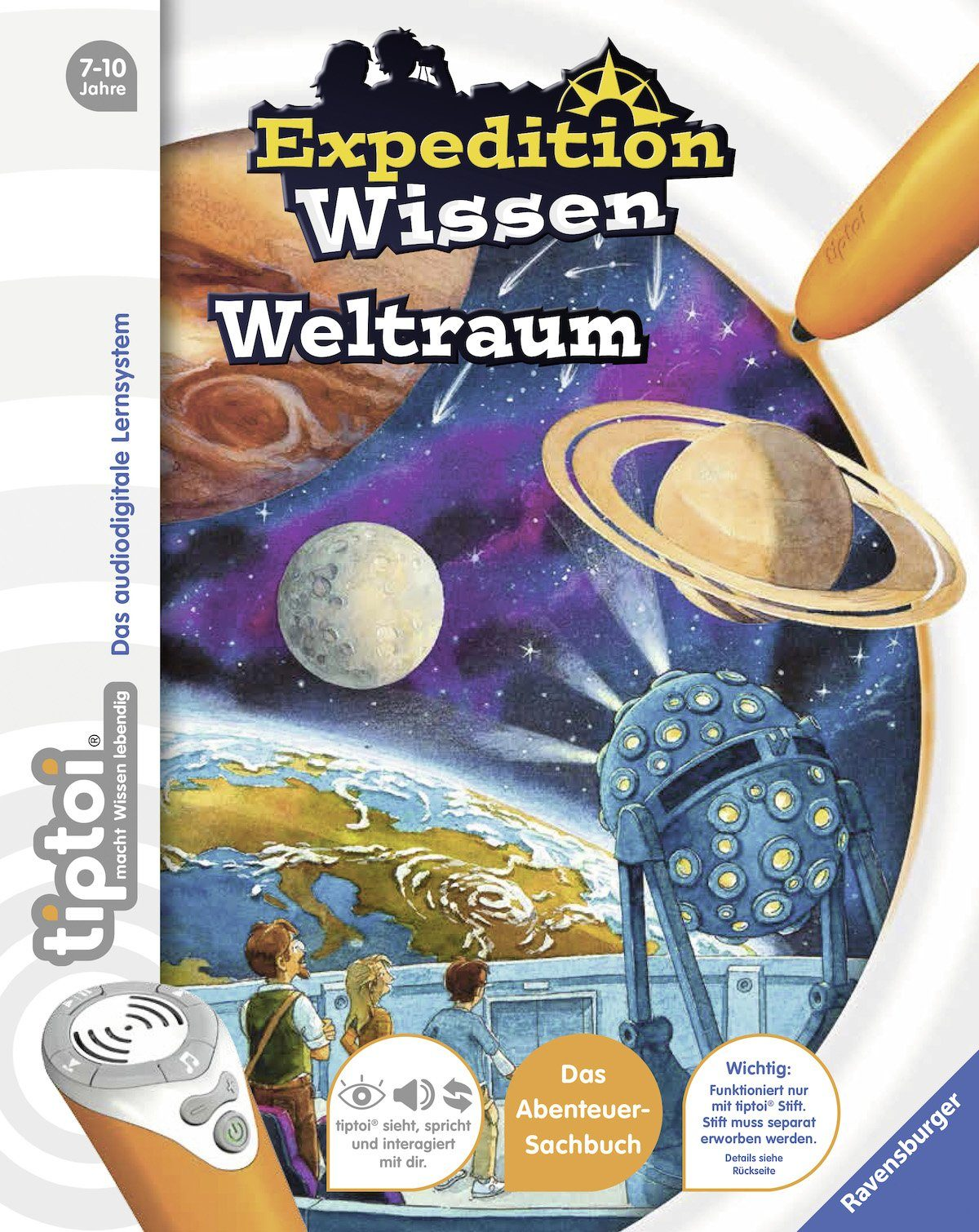 Ravensburger Buch, »tiptoi®, Weltraum«