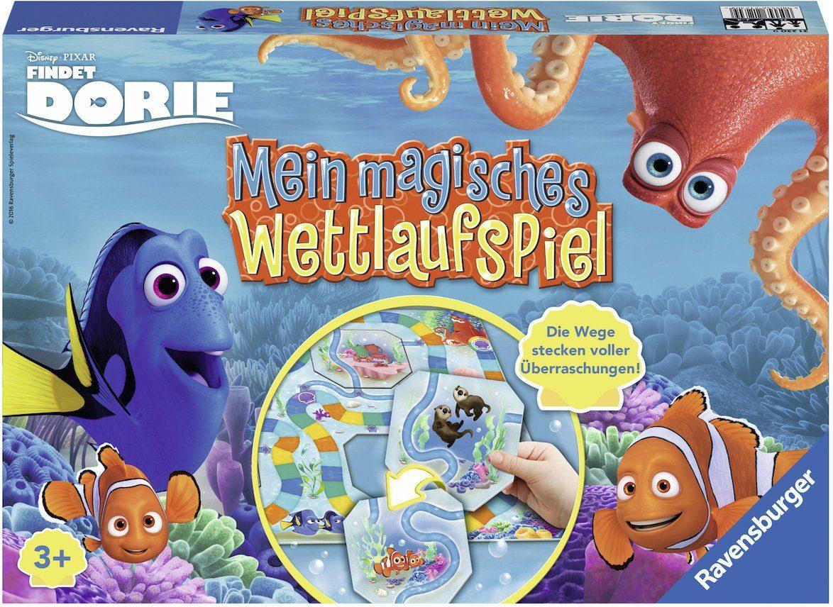 Ravensburger Wettlaufspiel, »Disney Pixar, Findet Dorie, Mein magisches Wettlaufspiel«