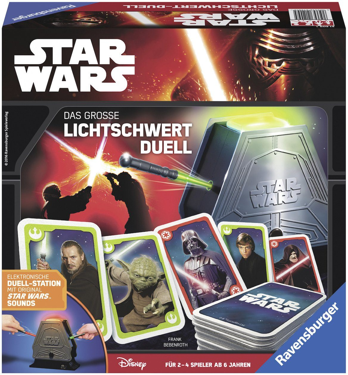 Ravensburger Reaktionsspiel mit Sound, »Disney, STAR WARS™, Das große Lichtschwert Duell«