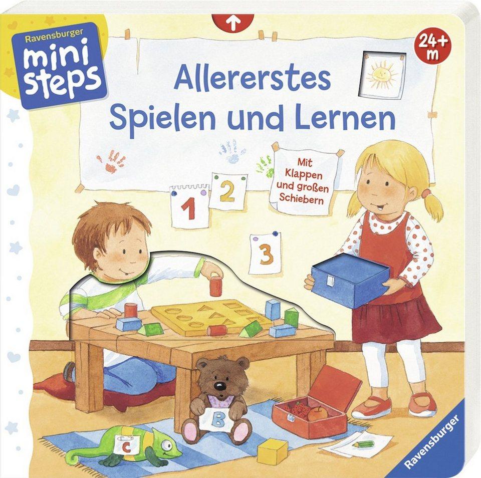Ravensburger Spielbuch, »ministeps®, Allererstes Spielen und Lernen«