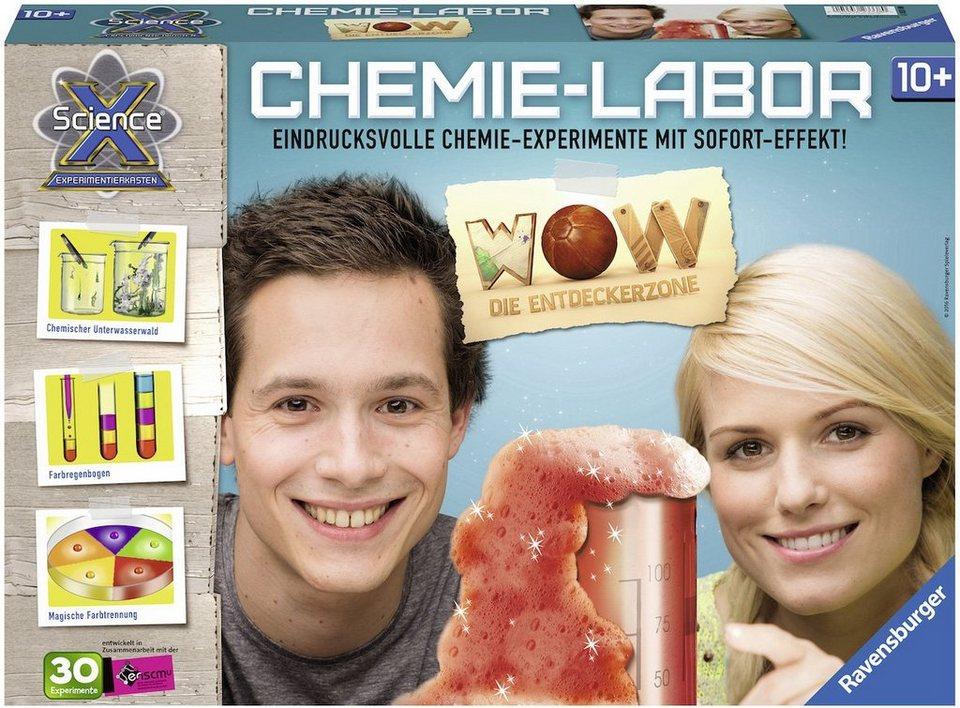 Ravensburger Experimentierkasten, »ScienceX, Chemielabor«