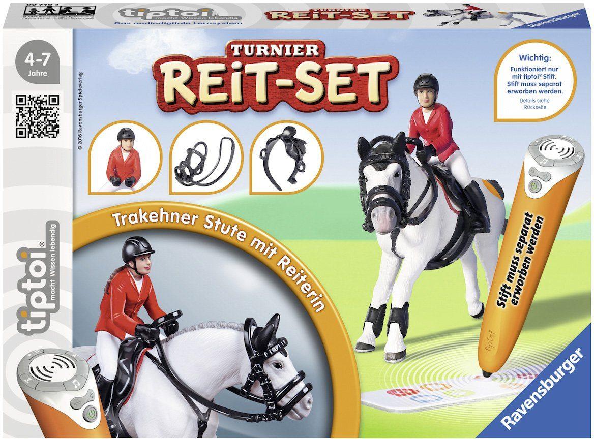 Ravensburger Set bestehend aus: Pferd, Reiterin, Sattel, Trense, »tiptoi®, Turnier Reit Set«