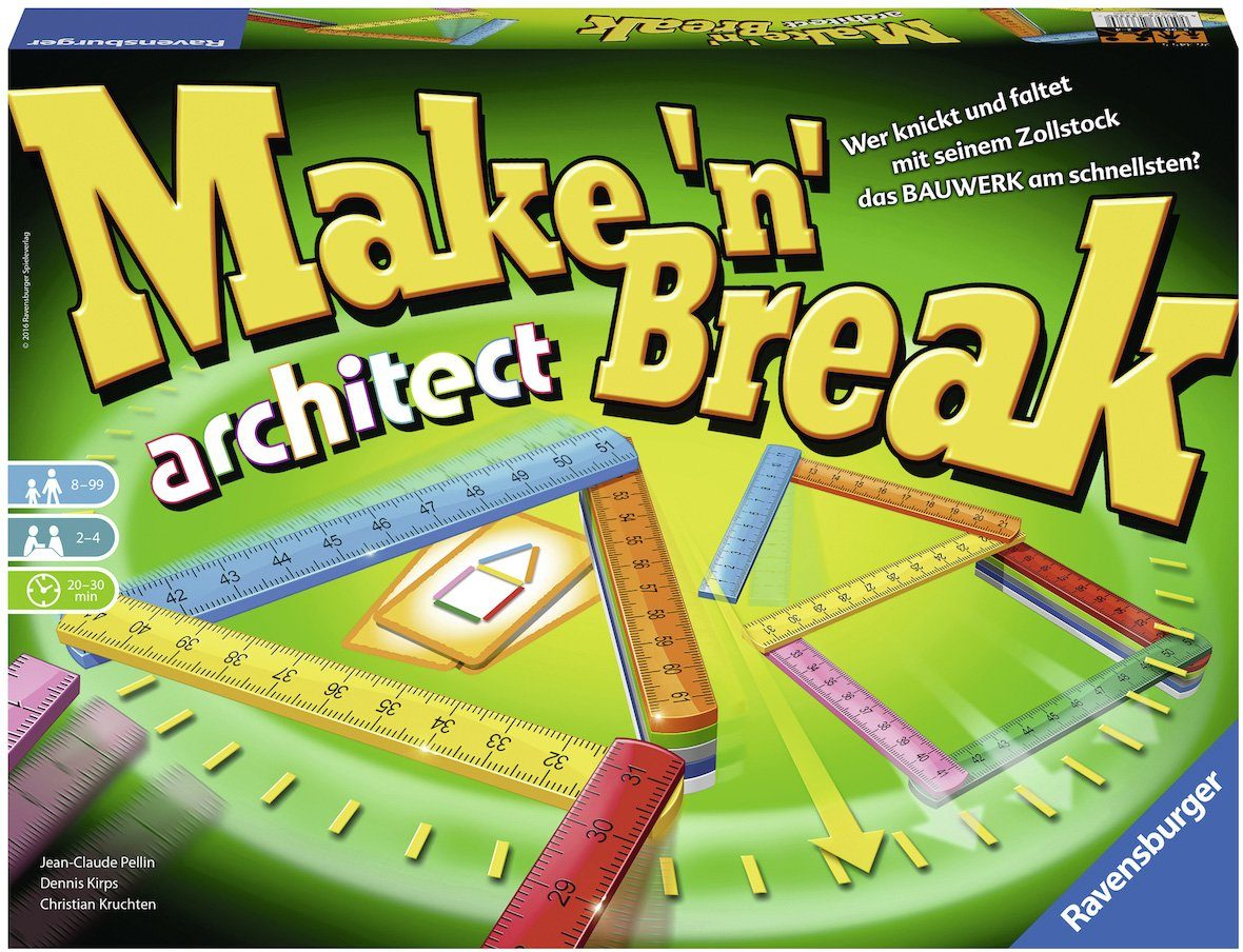 Ravensburger Gesellschaftsspiel, »Make 'n' Break Architect«