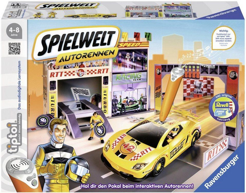 Ravensburger Set, »tiptoi® Spielwelt Autorennen«