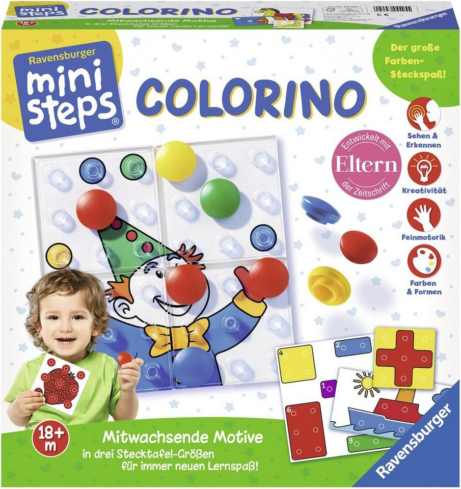 Ravensburger Kinderspiel, »ministeps®, Colorino«