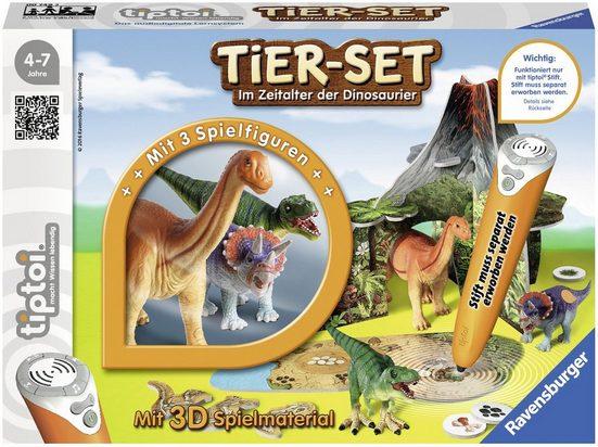 Ravensburger Spiel, »tiptoi® Tier-Set Im Zeitalter der Dinosaurier«