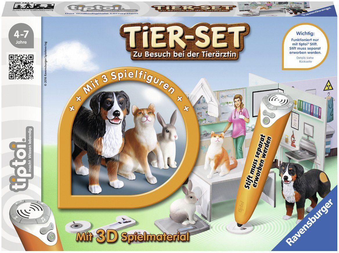 Ravensburger Spielwelt, »tiptoi®, Tier-Set Zu Besuch bei der Tierärztin«