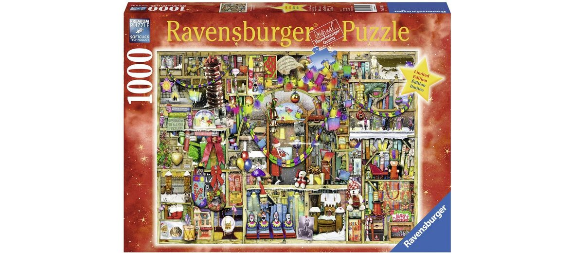 Ravensburger Puzzle, 1000 Teile, »Weihnachtsregal«