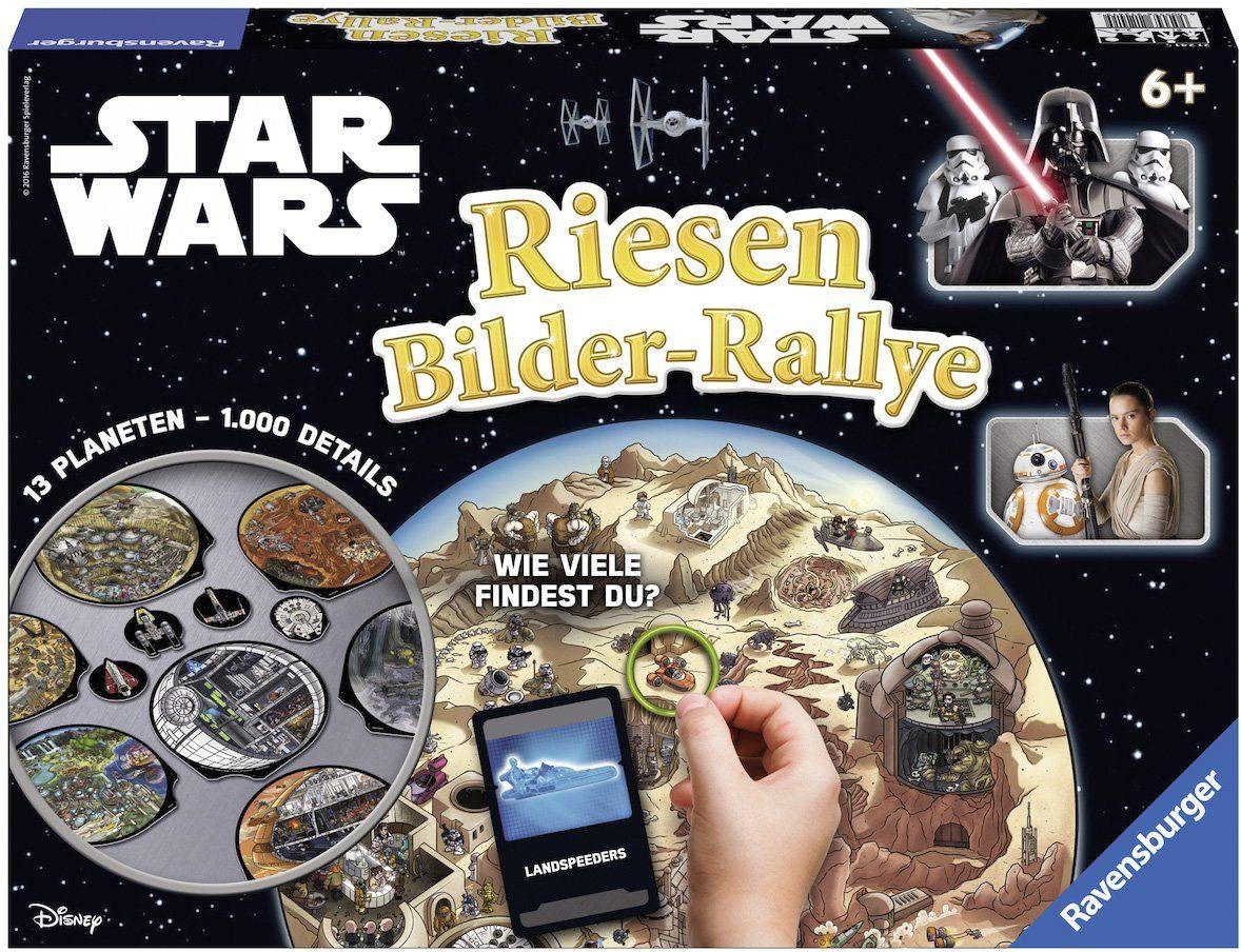 Ravensburger Wettlaufspiel, »Disney, STAR WARS™ Riesen Bilder-Rallye«