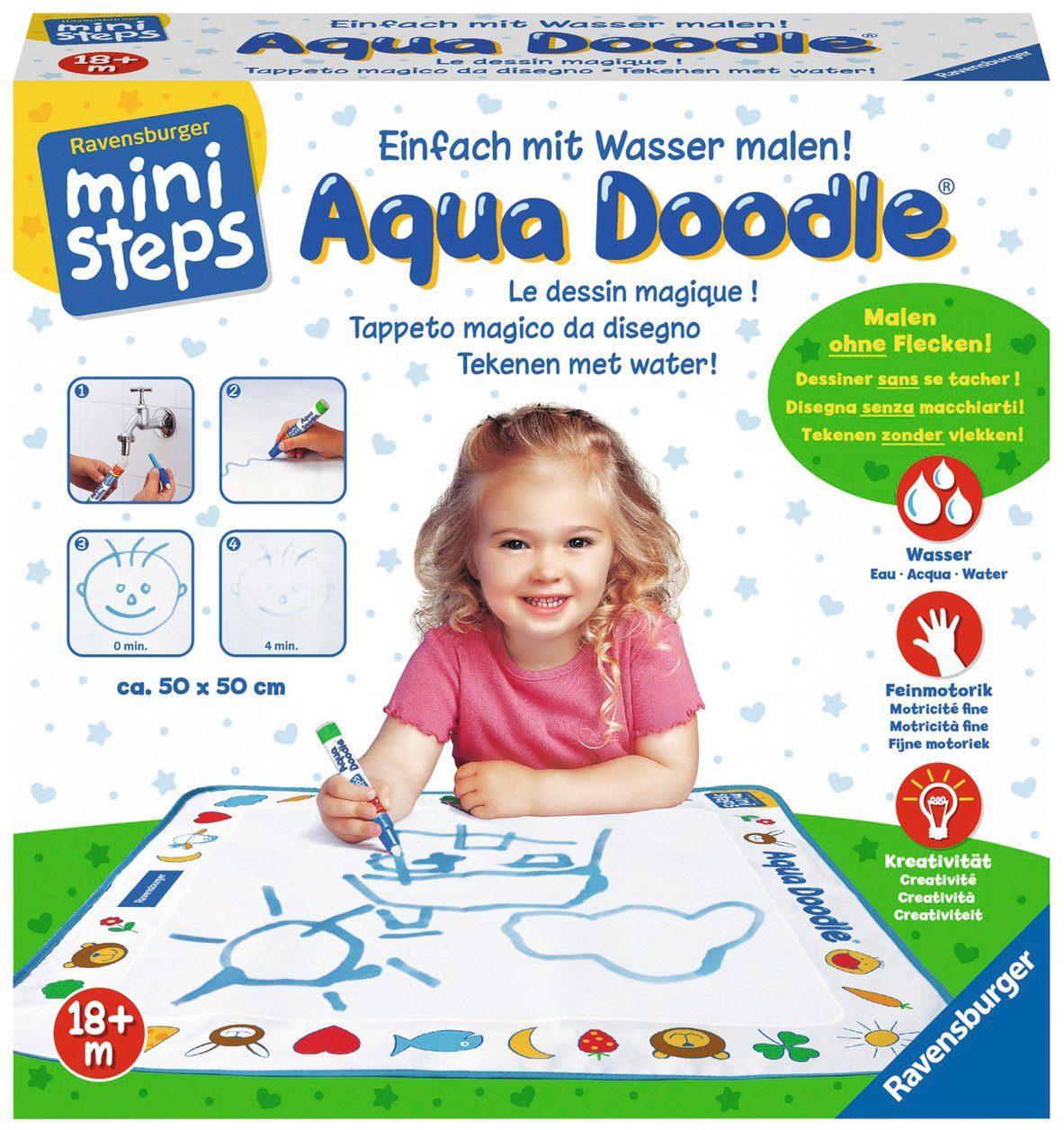 Ravensburger Set bestehend aus: Malmatte und Stift, »ministeps® Aqua Doodle®«