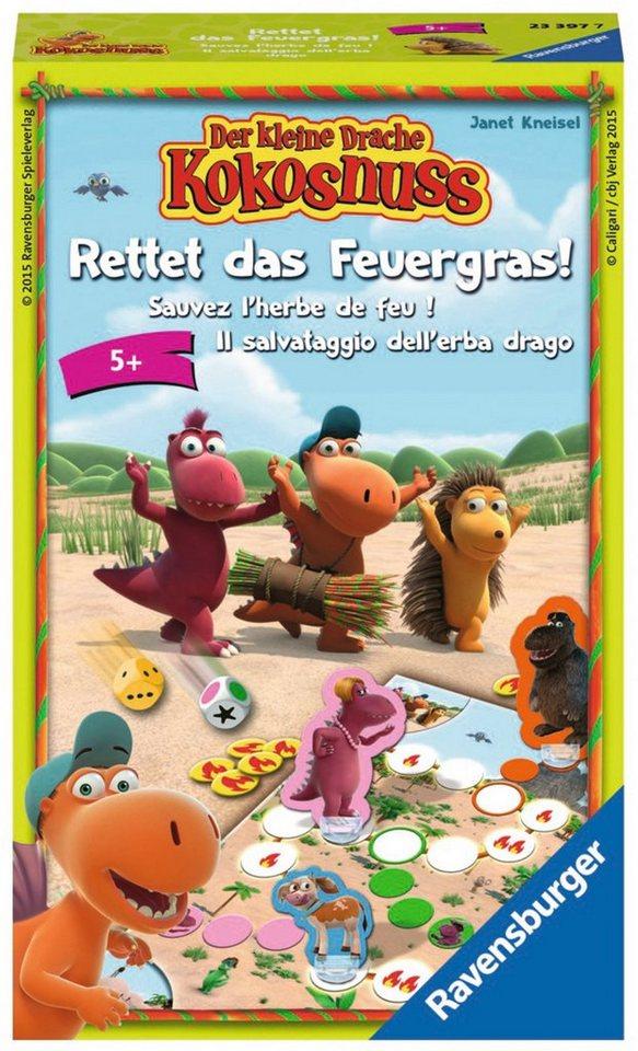 Ravensburger Wettlaufspiel, »Der kleine Drache Kokosnuss, Rettet das Feuergras!«