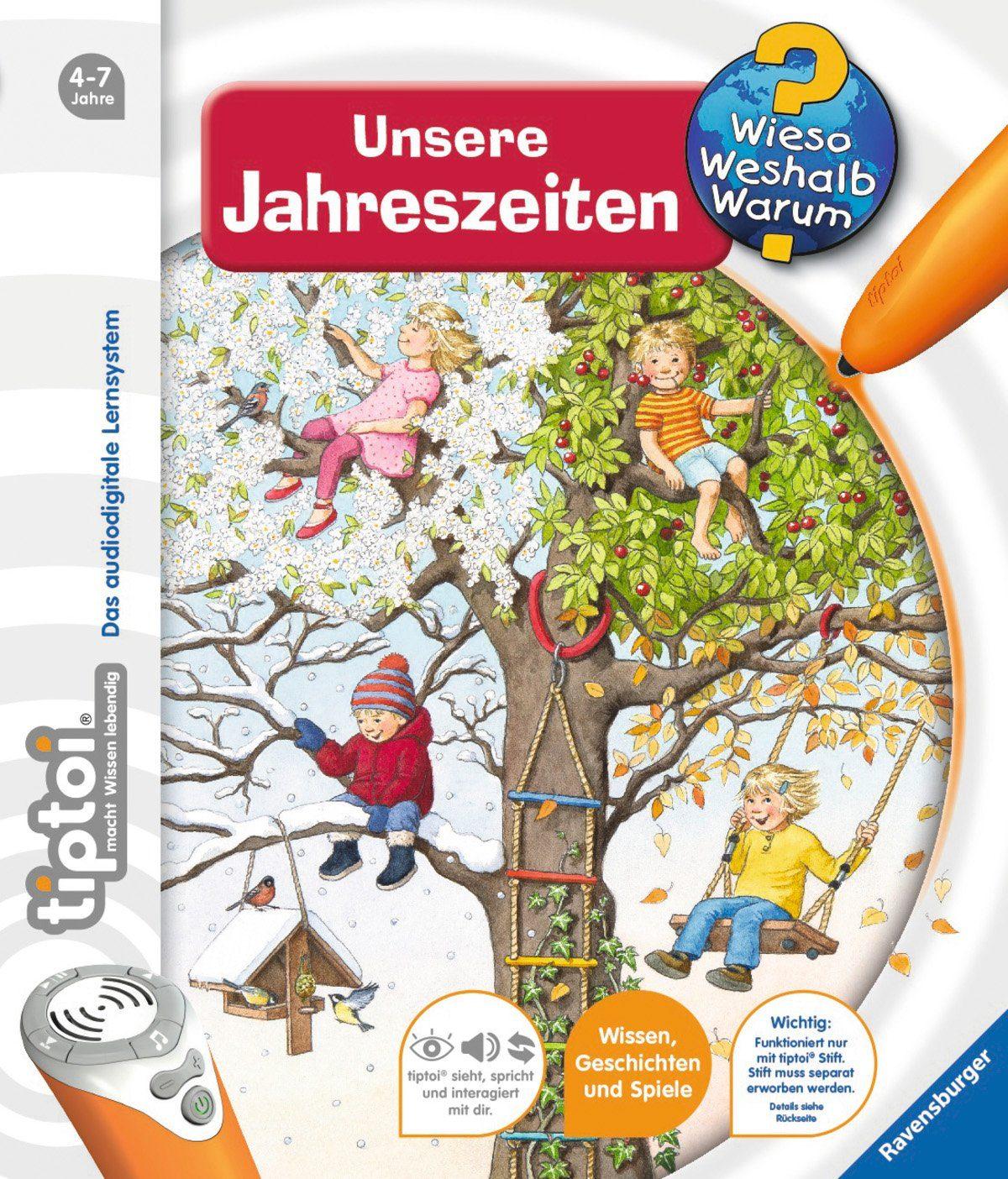 Ravensburger Buch, »tiptoi®, Unsere Jahreszeiten«