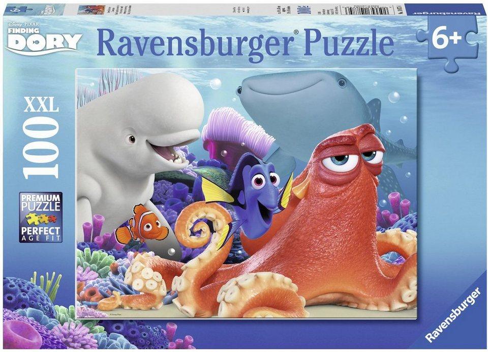 Ravensburger Puzzle, 100 XXL Teile, »Disney Pixar, Finding, Dory, Dorys Abenteuer«