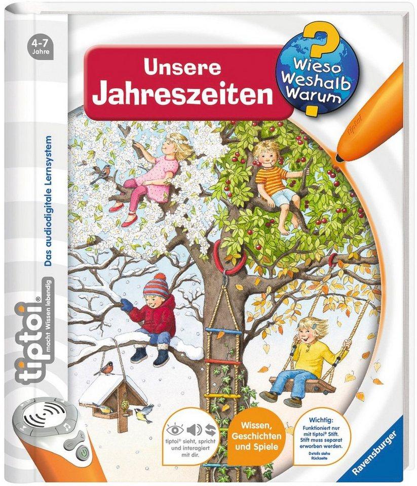 Ravensburger Buch,  tiptoi®, WWW - Unsere Jahreszeiten   online kaufen