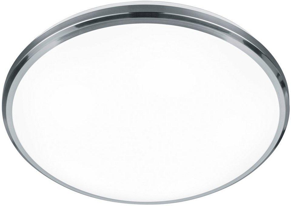 TRIO Leuchten LED Deckenleuchte, »CONTENDER« in nickelfarben matt,weiß