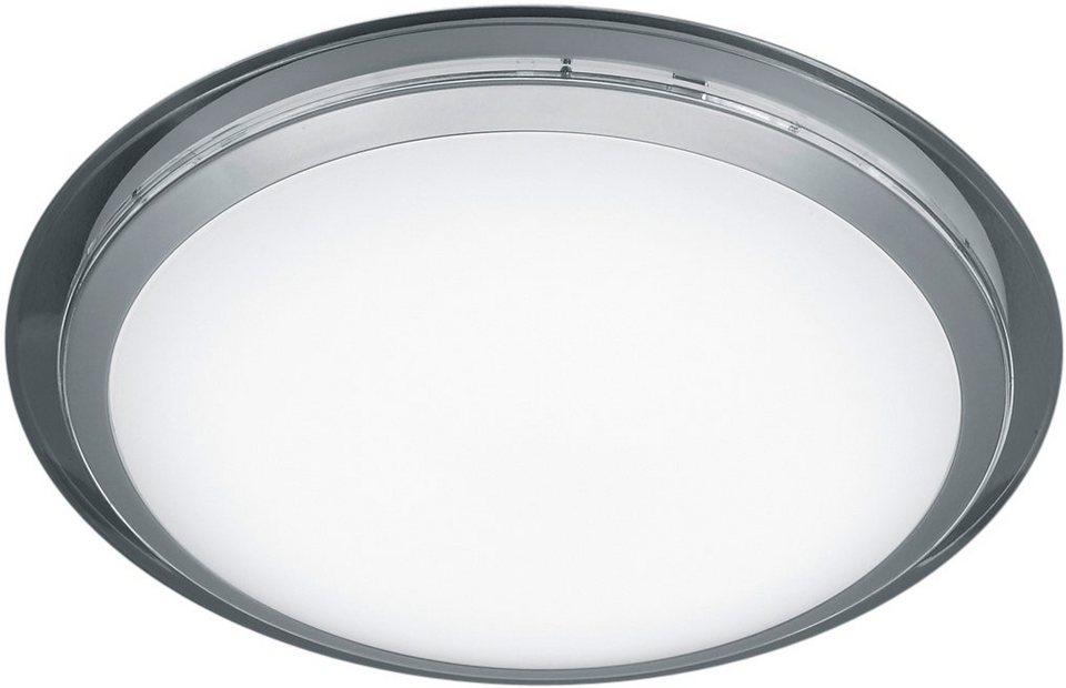 TRIO Leuchten LED Deckenleuchte, »MIZAR« in transparent/weiß