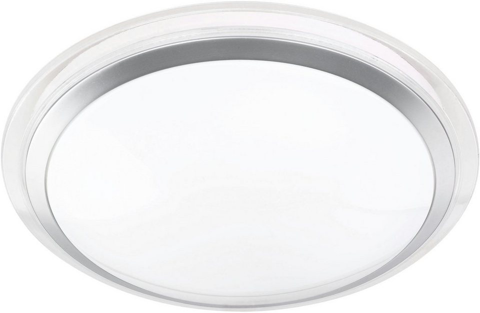 TRIO Leuchten LED Deckenleuchte, »CORE« in transparent/weiß