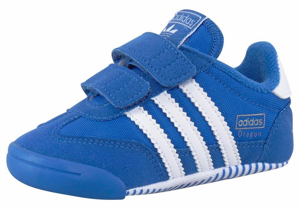 adidas Originals »Dragon L2W Crib« Lauflernschuh in blau-weiß