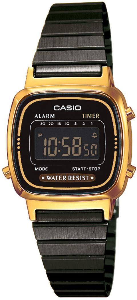 Casio Collection Chronograph »LA670WEGB-1BEF«