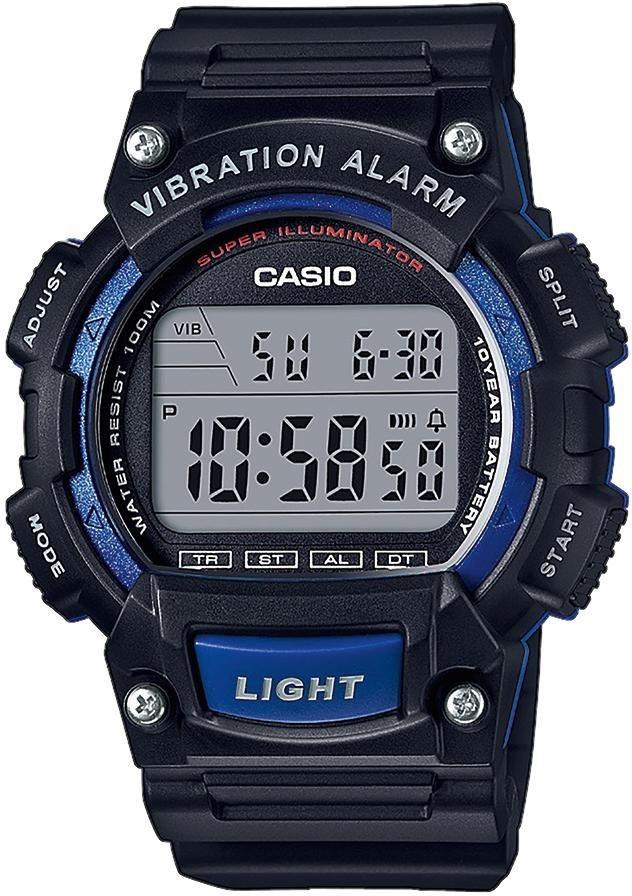 Casio Collection Chronograph »W-736H-2AVEF« in schwarz