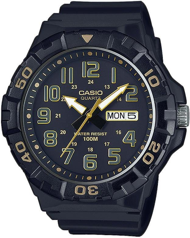 Casio Collection Quarzuhr »MRW-210H-1A2VEF« in schwarz