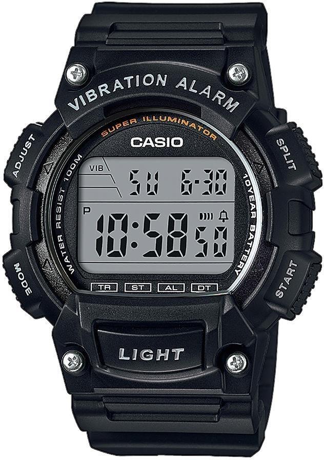 Casio Collection Chronograph »W-736H-1AVEF« in schwarz