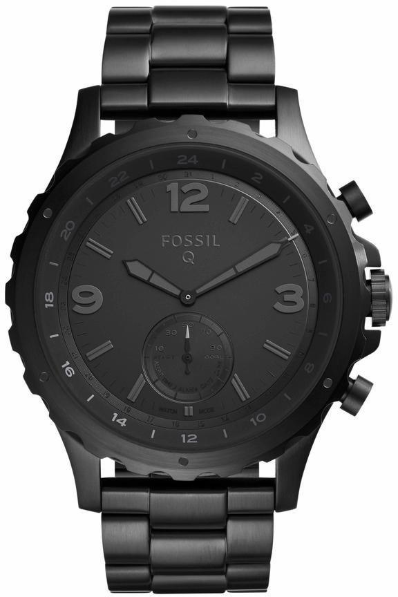 FOSSIL Q Multifunktionsuhr »Q NATE, FTW1115« in schwarz