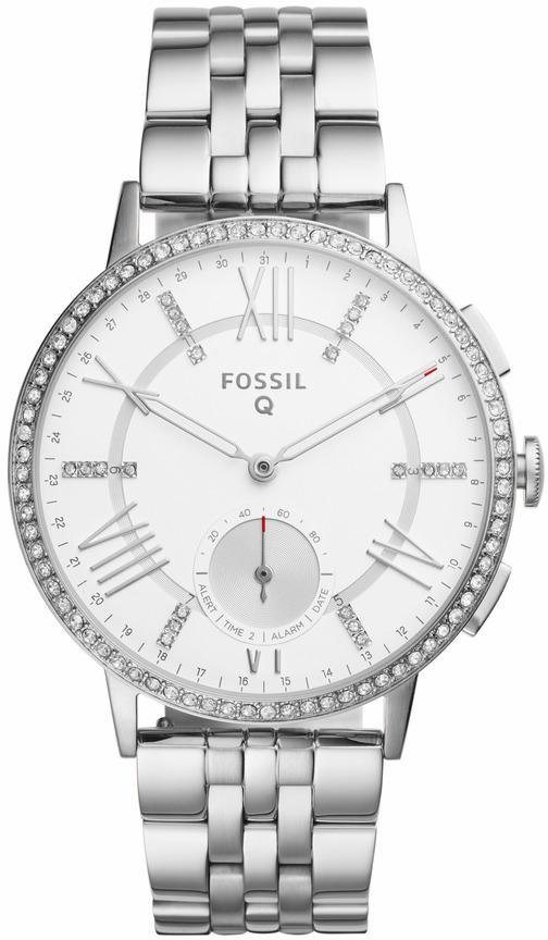 FOSSIL Q Multifunktionsuhr »Q GAZER, FTW1105« in silberfarben