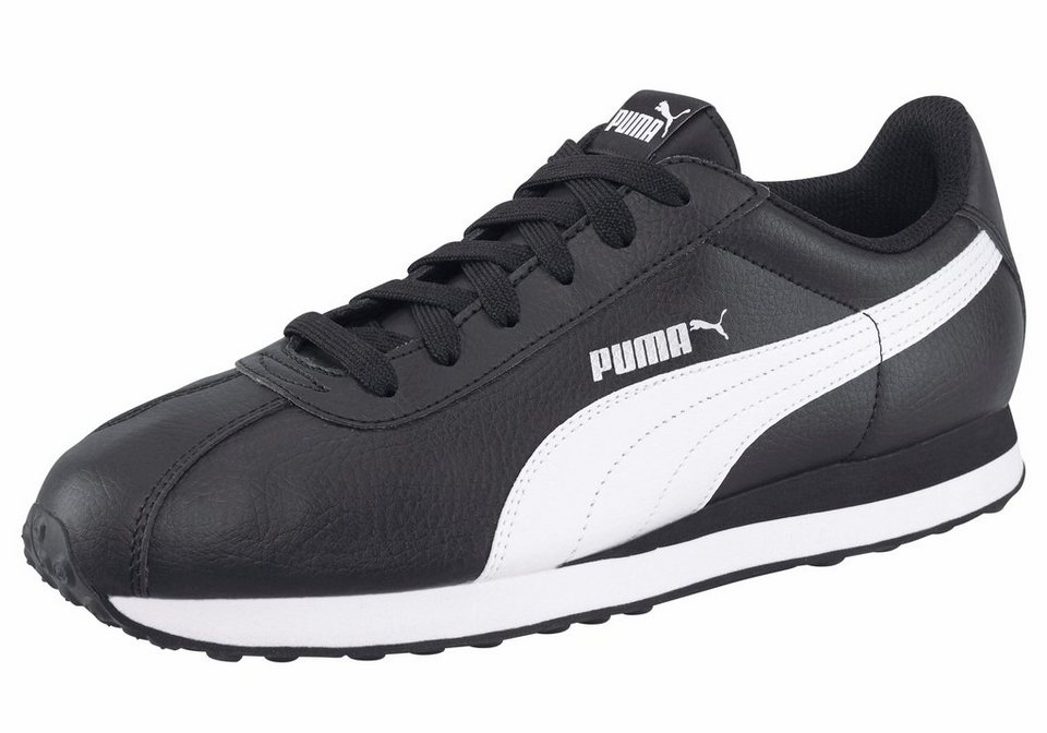 PUMA »Turin« Sneaker in schwarz-weiß