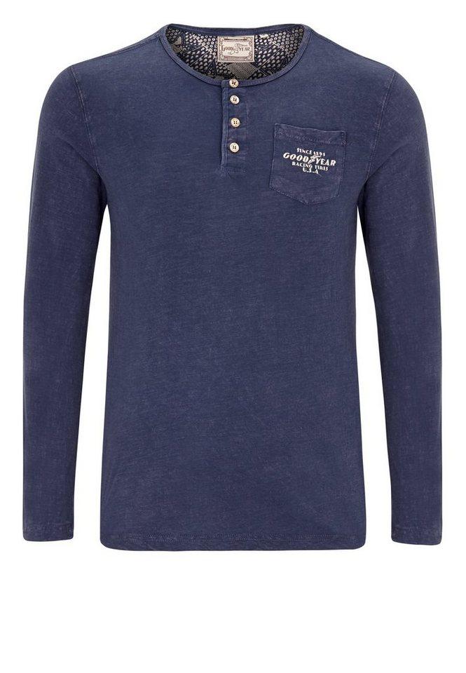 Goodyear Sweatshirt CHALGROVE in Vintage Navy