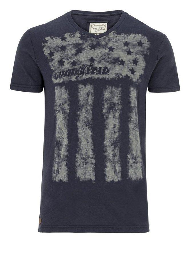 Goodyear T-Shirt WACO »WACO« in Vintage Navy