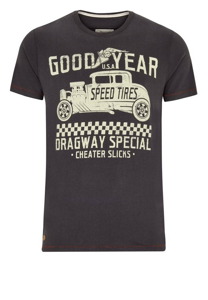 Goodyear T-Shirt »RINARD« in Anthracite