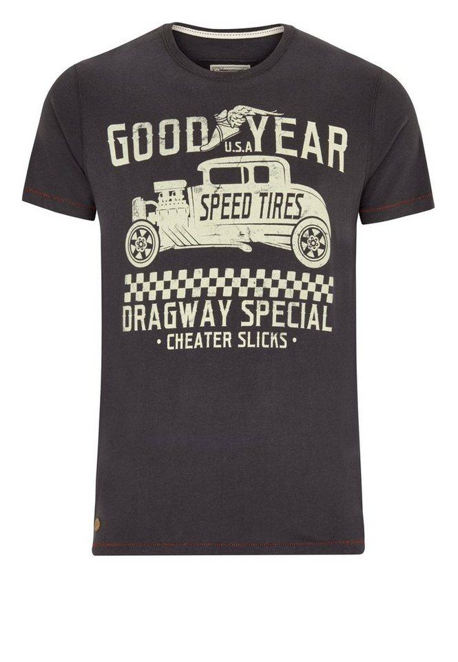 Goodyear T-Shirt RINARD »RINARD« in Anthracite