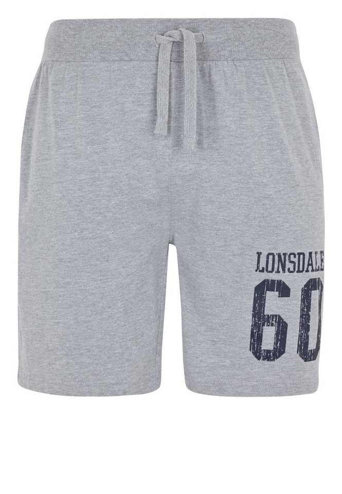 Lonsdale Short DOUNREAY in Marl Grey