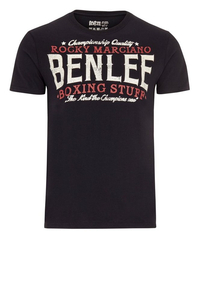 Benlee Rocky Marciano T-Shirt BOXING STUFF »BOXING STUFF« in Black