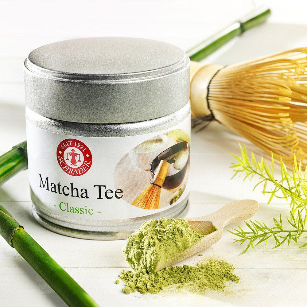 Schrader Matcha Tee Classic Bio
