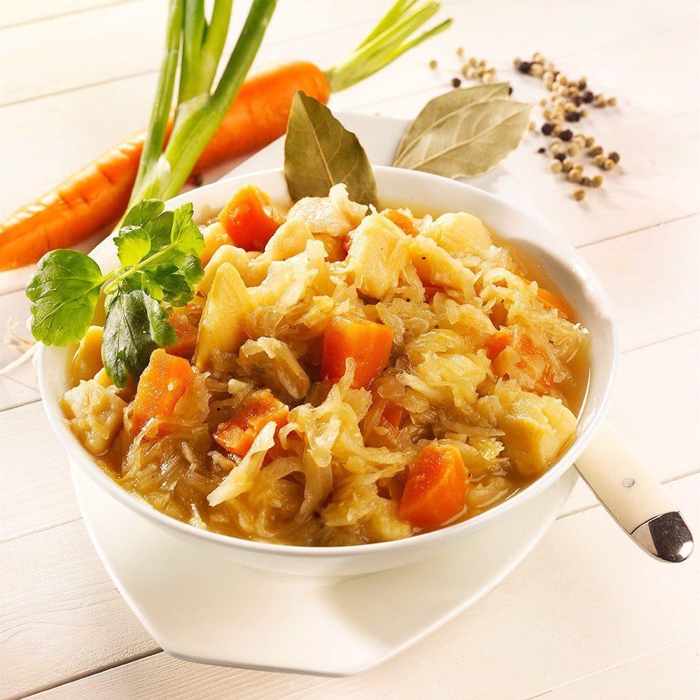Gut Krauscha Sauerkraut-Eintopf Bio, vegan