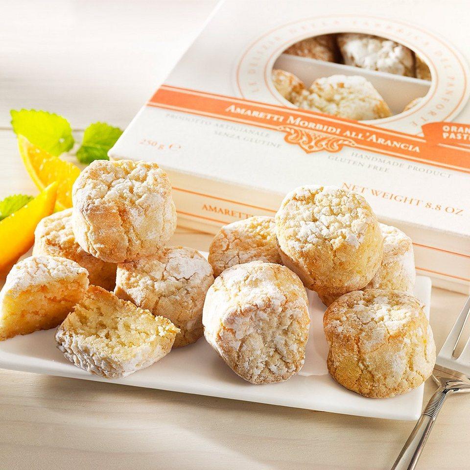 Sinatti Weiche Amaretti mit Orangen